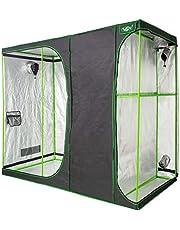 VITA5 Armaro Cultivo 2-in-1 | Armarios Cultivo Interior | Lona Resistente a Prueba de luz y de rasgaduras | Impermeable Grow Tent
