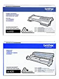 Brother TN450 (TN-450) High Yield Black Toner Cartridge and DR420 (DR-420) Imaging Unit