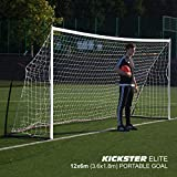 QUICKPLAY Kickster Elite Portable Soccer Goal