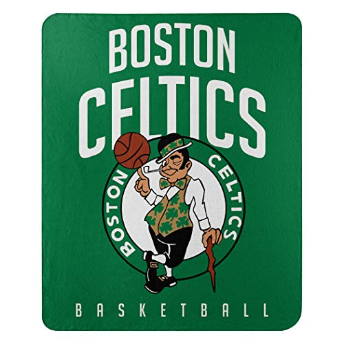 Northwest NBA Boston Celtics 50x60 Fleece Lay Up DesignBlanket, Team Colors, One Size