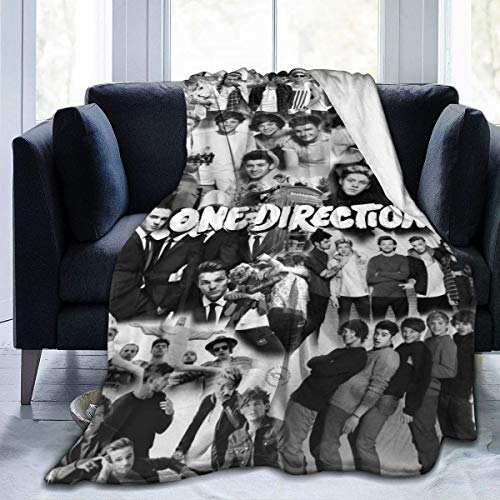 1D-One Direction Blanket Micro Fleece Bed Mantas Super Soft Cozy Luxury Couch Blanket 60 * 50in