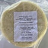 Formaggio Caciotta di Capra Calabrese, Latte Caprino Magro e Leggero - Forma intera 850gr ottimo antipasto