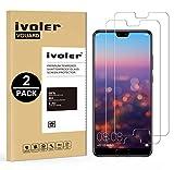 iVoler [2 Pack] Pellicola Vetro Temperato per Huawei P20, Pellicola Protettiva, Protezione per Schermo