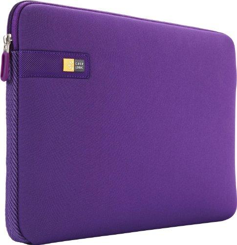 Case Logic LAPS - 113PP Tasche als zweite Haut aus Neopren für Notebooks/MacBooks 13, Violett