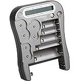Kraftmax, tester universale per pile e batterie, con display LCD, versione MW333/LX5900,...