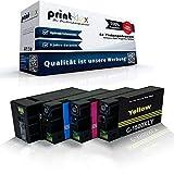 4x kompatible Tintenpatronen für Canon Maxify MB2000Series MB2050 MB2300 MB2300Series MB2350 PGI1500XL PGI-1500XL Schwarz - Black Cyan Magenta Yellow