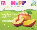 Hipp Frutta Grattugiata Mela Pesca - 24 vasetti da 100 g