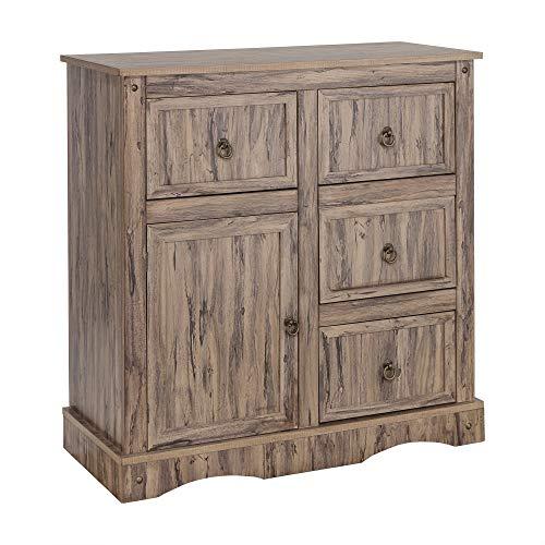 Elegant Home Fashions Elegant Home Fahsions Cabinet, Wren Maple