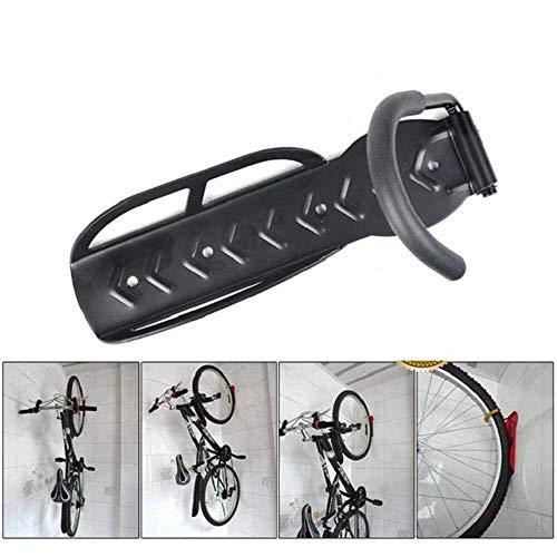 Accesorios de Bicicletas Portabicicletas vertical, soporte for bicicleta de montaje en pared con cubierta de goma, gancho de pared for bicicleta de alto rendimiento for Simplemente Instalado con torni