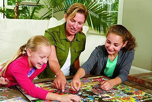 KUANGPP 1000 Teile HolzpuzzleErwachsene Kinder Spielzeug Puzzle kreatives Spiel DIY klassisches Puzzle Spielzeug kognitive Geschenk-Leseeule- 1000 PCS - 3