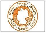Imán para nevera con ilustración de viaje de Alemania, est