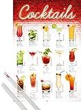 1art1 Cocktails Poster (91x61 cm) Mixology, Deutsche