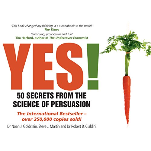 Yes! 50 Secrets from the Science of Persuasion audiobook cover art