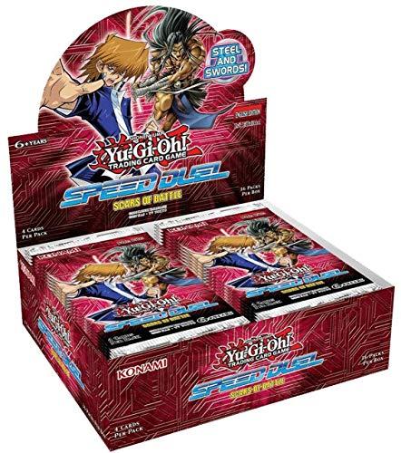 Yu-Gi-Oh! KONSDSB Speed Duel-Scars of Battle Booster Paket, Mehrfarbig