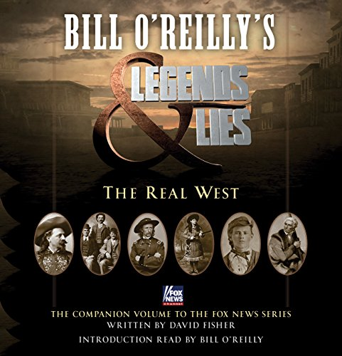 Bill O'Reilly's Legends and Lies audiobook cover art