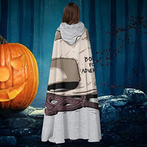 NULLYTG - Disfraz de Bruja con Capucha, para Halloween, Halloween, Navidad, Halloween, para el Tiempo de Aventura, Finn, el Humano