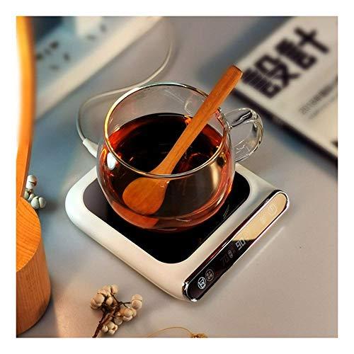 huichang USB Elektrische Tassenwärmer Pad, Getränkewärmer Set, Heizung Coaster Tray, Getränkewärmer mit Elektrischer Heizplatte Schalter-55 ℃ konstante Temperaturheizung-für Tee Kaffee