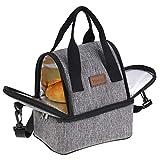Tragbare Wärmedämmung Picknick Lunch-Tasche Büroschule Reisen Lebensmittel Kühler Lager Container Reisen Mittagspause