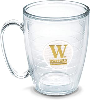 Tervis Wofford College Emblem Individual Mug, 16 oz, Clear