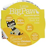 Little Big Paw Gourmet Tender Chicken Mousse, 85 g pack of 8