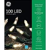 GE Energy Smart Colorite Miniature LED 100-Light Set Holiday, Party, Christmas - White