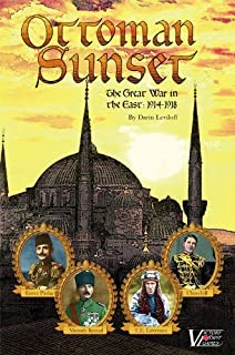 Ottoman Sunset: The Great War in the East, 1914 - 1918 Solitaire Boxed Board Game by Victory Point Games
