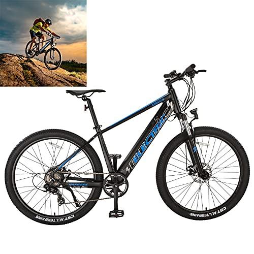 Bicicleta eléctrica Velocidad máxima de conducción 25 km/h Bicicleta montaña Adulto Capacidad de la batería (AH) 10Ah Bici montaña Freno Frenos de Disco mecánicos Recomendar Jinete Alturas 165-198cm