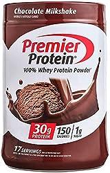 Premier Protein Whey Powder, Chocolate, 24.5 Oz