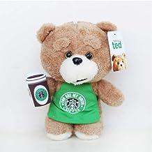 qwerqz 8 `` 20 Cm Película Teddy Bear Ted 2 Peluches En Delantal Oso De Peluche Camarero Cosplay Peluche Peluches Suaves Juguetes Muñeca