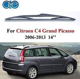 Occus Wipers Rear Wiper Blades for Citroen C4 Grand Picasso 2006-2013, Silicone Rubber