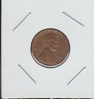 1955 S Lincoln Wheat (1909-1958) Penny Choice About Uncirculated Details