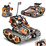 Sillbird STEM Remote Control Building Toys, 392 PCS 3-in-1 Techinic Building Blocks for Kids, Creative Bricks Construction Toy RC Car/Tank/Robot Best Gifts for Boys & Girls Age 8 9 10 11 12 Year Old