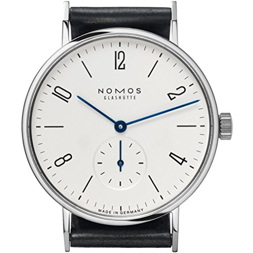 Nomos Tangente Galvanized White Dial Leather Unisex Watch...