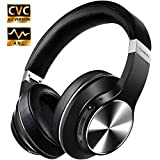 Best Bluetooth Noise Cancelling Headphones - Hybrid Active Noise Cancelling Headphones, VANKYO C751 Over Review