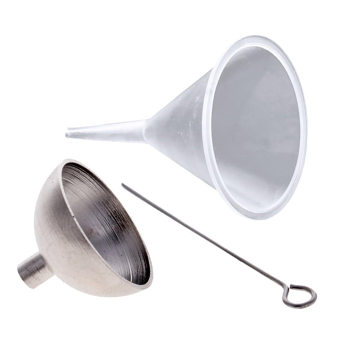 電話に出る実際の注釈amleso ロート オイルボトル ファンネル 液体転送 詰め替え 香水 精油