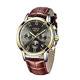 Reloj para Hombre Deportes Prueba de Agua de Moda Reloj Marca de Lujo LIGE Reloj cronógrafo