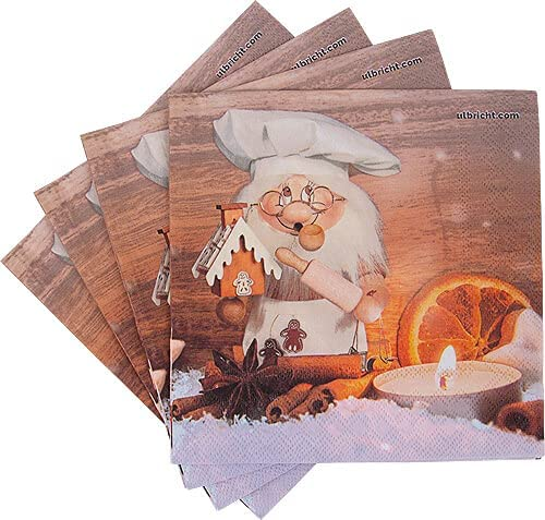 Christian Ulbricht Napkins Gnome pcs. 20 - 67% OFF of fixed price NEW Sweety