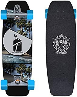 TXIN - Surf Skate with Glutier T12 Trucks surfskate Palm ...