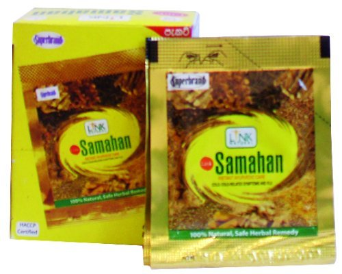 Samahan - Ayurvedische thee. Warme drank van 14 Indiase kruiden en specerijen.