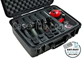 Case Club 5 Pistol & Accessory Pre-Cut Waterproof Case with Silica Gel to Help Prevent Gun Rust