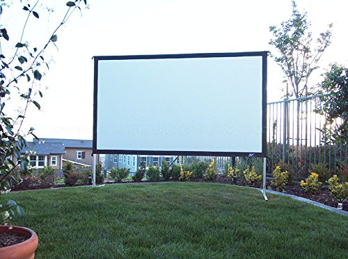 Elite Screens Mobile Outdoor Rahmenleinwand Yard Master 2 Front- und Rückprojektion 266 x 149 cm, 16:9 Format 120 Zoll, OMS120H2-DUAL