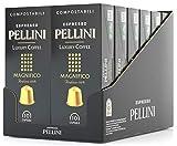 Pellini Caffè - Espresso Pellini Luxury Coffee Magnifico - 120 Cápsulas (12 x 10) - Compatible Con Máquina Nespresso