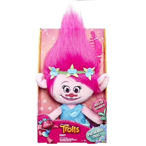 Hasbro Trolls B7772GC0 Sprechender Plüsch