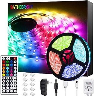 Bathebright LED Strip Lights 16.4ft 5m LED Light Strips...