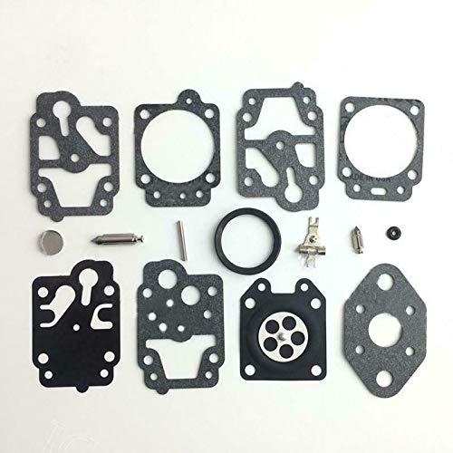 SENRISE Vergaserreparatur-Set, Vergaser-Umbau-Set, inkl. Membrandichtung und Nadel-Reparaturset, passend für Walbro WYL Vergaser K20-WYL, Ryobi 753-04014