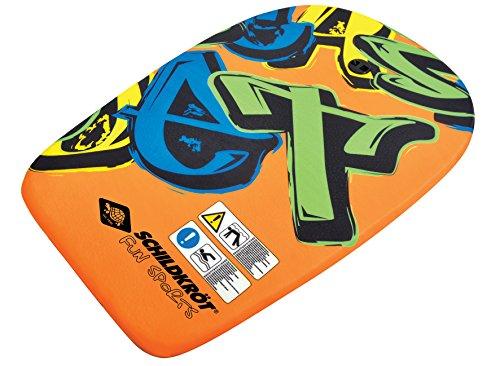 Schildkröt Schwimmbrett Bodyboard M, mit Nylonüberzug und EPS Schaumstoff-Kern, 69 x 45 cm, max. Belastung: 60 kg, 970216
