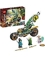 LEGO 71745 NINJAGO Lloyd's Jungle Chopper cykelbyggsats, motorcykelleksak med Lloyd och Nya Minifigures
