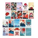 MagiDeal Pancartas Verticales de poliéster Colgantes de Sushi-Juego de decoración de Pared de Fiesta Japonesa-Decoración de Puerta Interior - Tipo 2