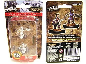 Pathfinder Deep Cuts Unpainted Miniatures  Wave 8  Female Halfling Rogue