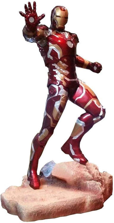 selección larga Marvel Avengers  Infinito Guerra Iron Man Man Man MK43 Modelo De Personaje De Acción Conjunto Inamovible Alto 50CM  liquidación hasta el 70%